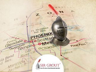 Sir Grout of Scottsdale Has Changed Its Name to Sir Grout of Phoenix Due to the Continuous, Steady Expansion of its Business