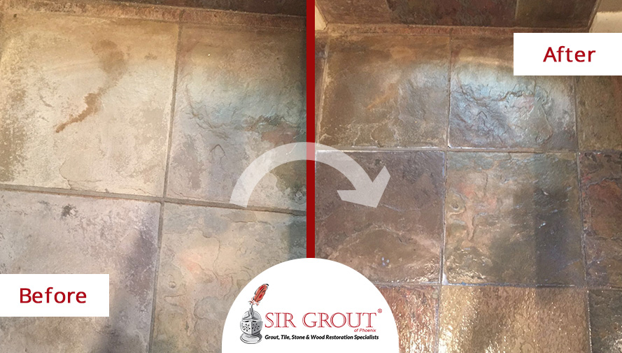 A Tile Sealing Job In Tempe Arizona Gave This Homeowner 39 S