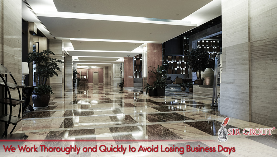 We Work Thoroughly and Quickly to Avoid Losing Business Days